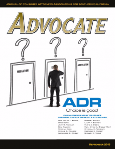 "Previously published in the September 2015 issue of ""Advocate"" Magazine, Pages 44-55"