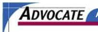 Advocate Magazine Logo